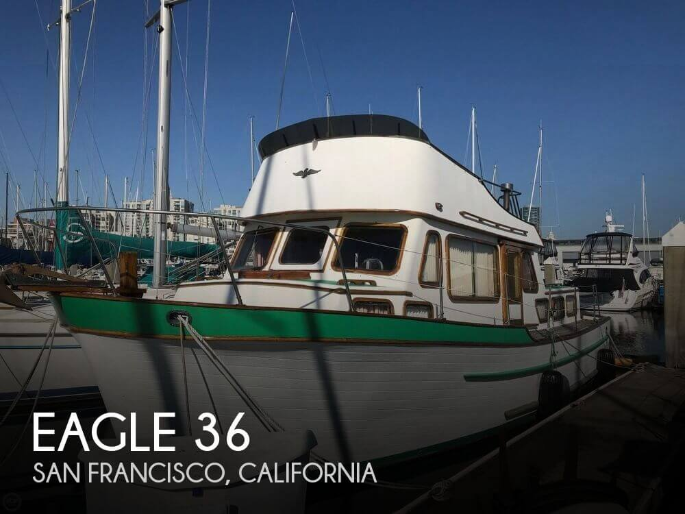 Used Power boats For Sale in Santa Rosa, California by owner | 1978 Eagle 36