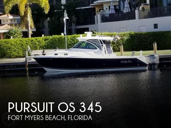 Used Boats For Sale in Cape Coral, Florida by owner | 2013 Pursuit 34
