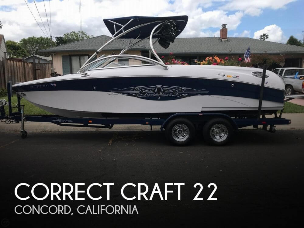 Used Power boats For Sale in Santa Rosa, California by owner | 2007 Correct Craft 22
