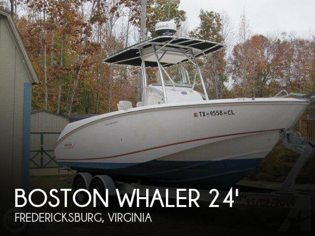 Used Boston Whaler Boats For Sale in Virginia by owner | 2004 Boston Whaler 24