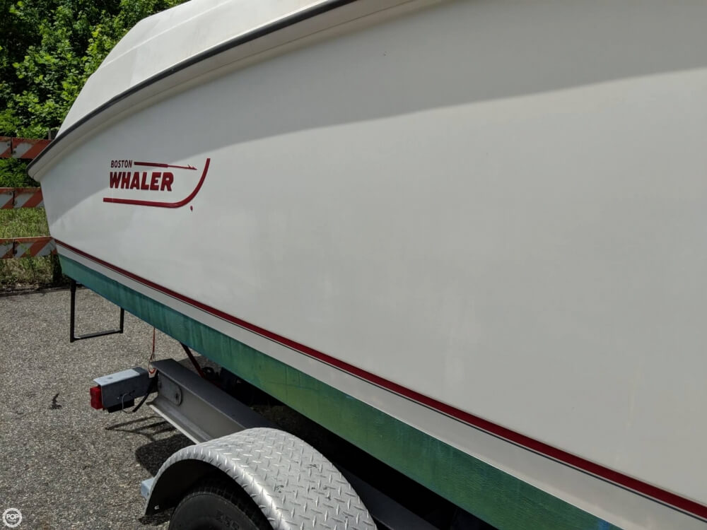 2004 Boston Whaler boat for sale, model of the boat is 240 Outrage & Image # 15 of 40