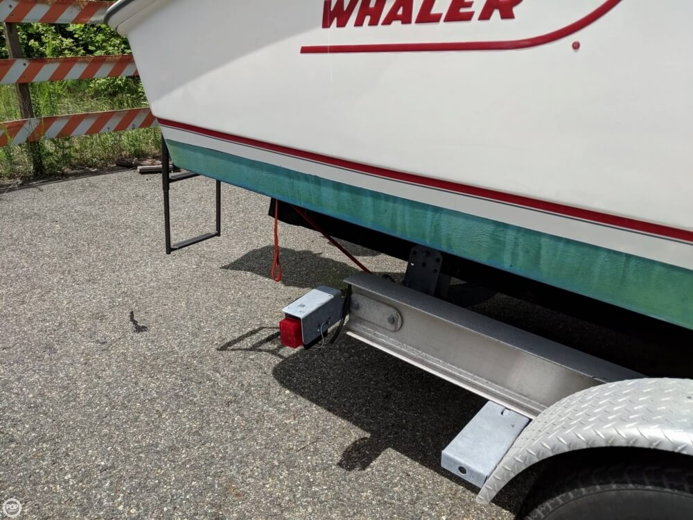 2004 Boston Whaler boat for sale, model of the boat is 240 Outrage & Image # 17 of 40
