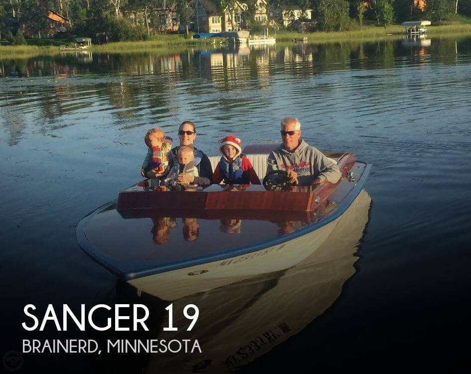 Used Ski Boats For Sale in Minnesota by owner | 1972 Sanger 19