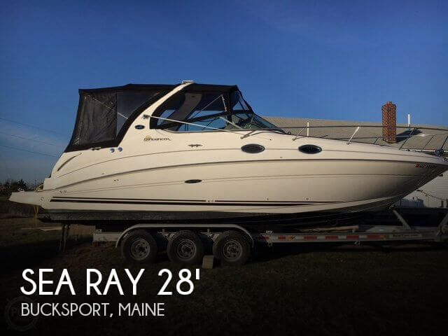 Used Sea Ray 28 Boats For Sale by owner | 2003 Sea Ray Sundancer 280