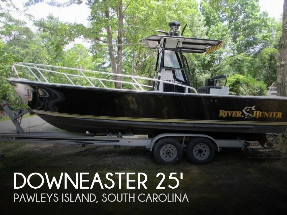 1996 Downeaster boat for sale, model of the boat is 25 River Hunter & Image # 1 of 41