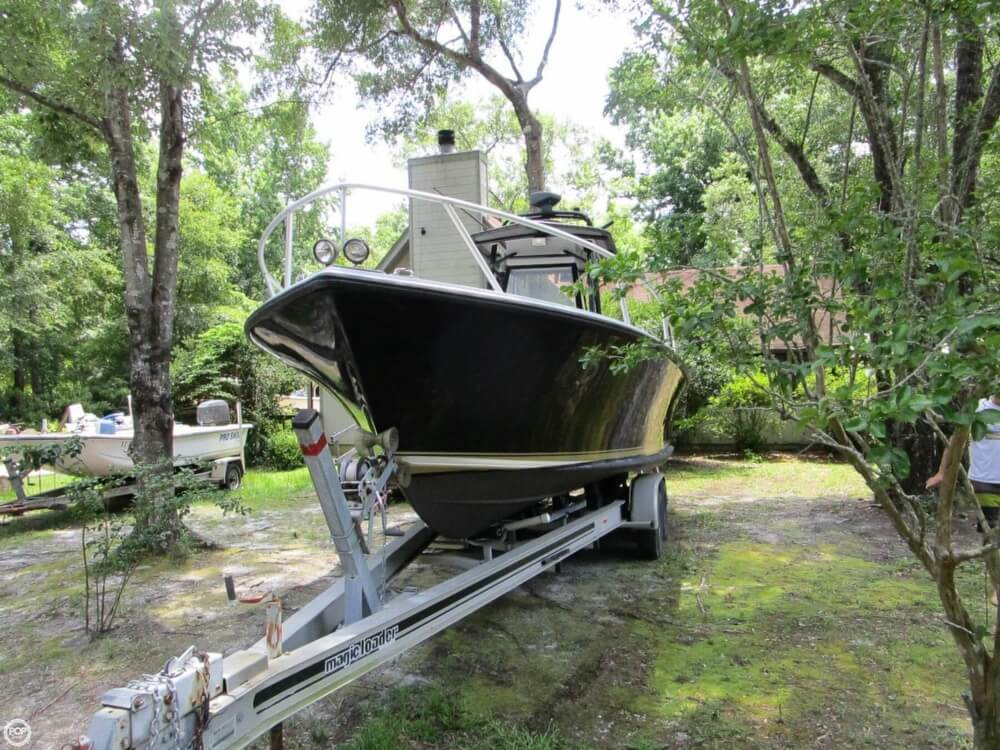 1996 Downeaster boat for sale, model of the boat is 25 River Hunter & Image # 2 of 41