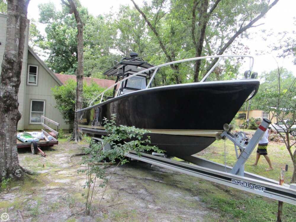 1996 Downeaster boat for sale, model of the boat is 25 River Hunter & Image # 4 of 41