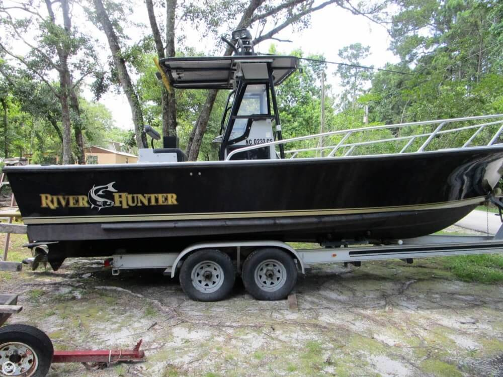 1996 Downeaster boat for sale, model of the boat is 25 River Hunter & Image # 5 of 41