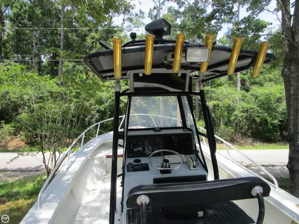 1996 Downeaster boat for sale, model of the boat is 25 River Hunter & Image # 12 of 41