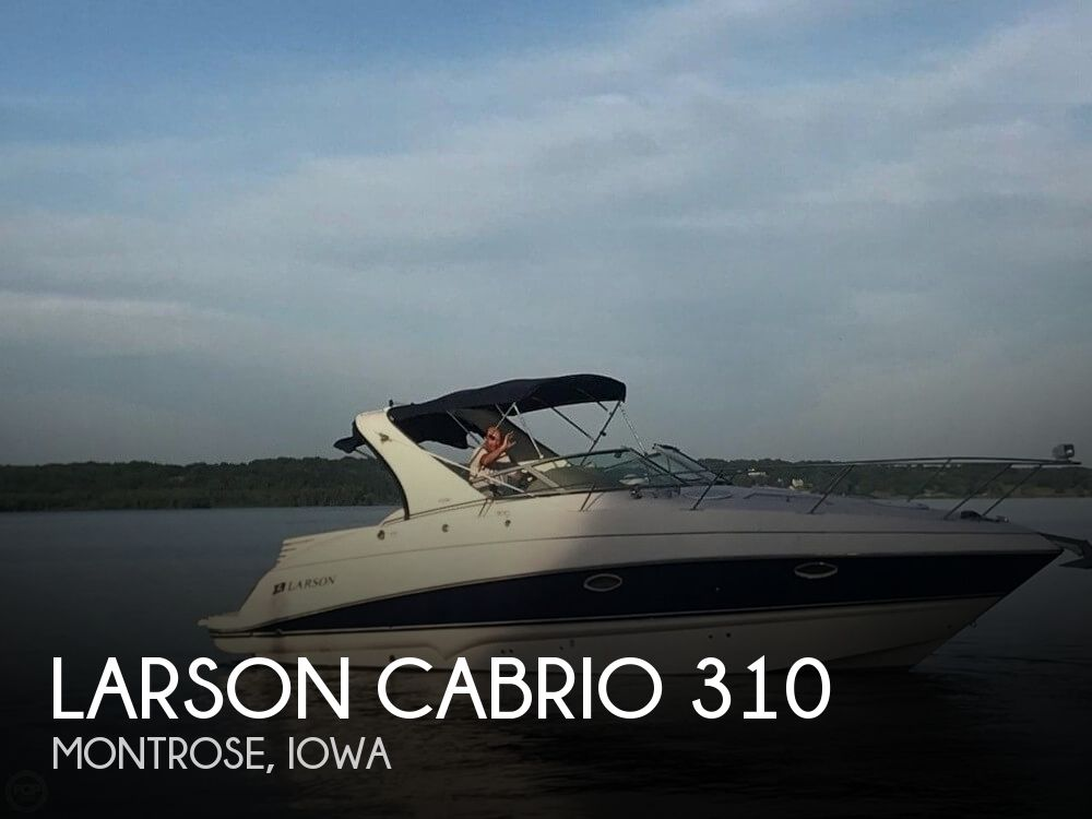 Used Boats For Sale in Iowa by owner | 2007 Larson 31
