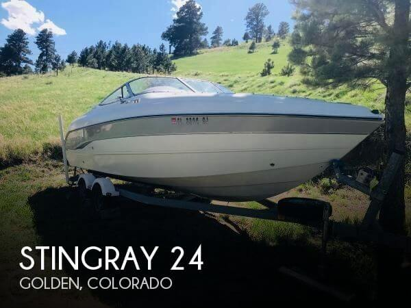 Used Boats For Sale in Fort Collins, Colorado by owner | 2003 Stingray 24