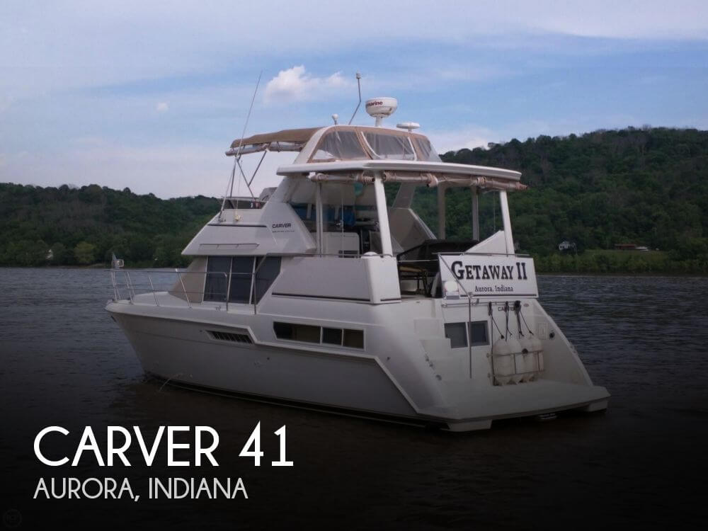 Used Boats For Sale in Cincinnati, Ohio by owner | 1998 Carver 41
