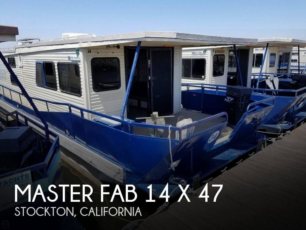 Used Houseboats For Sale in Sacramento, California by owner | 1986 Master Fabricators 46