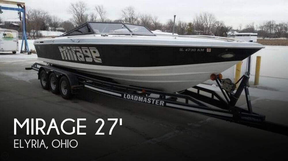 Used Mirage Boats For Sale by owner | 1988 Mirage 27