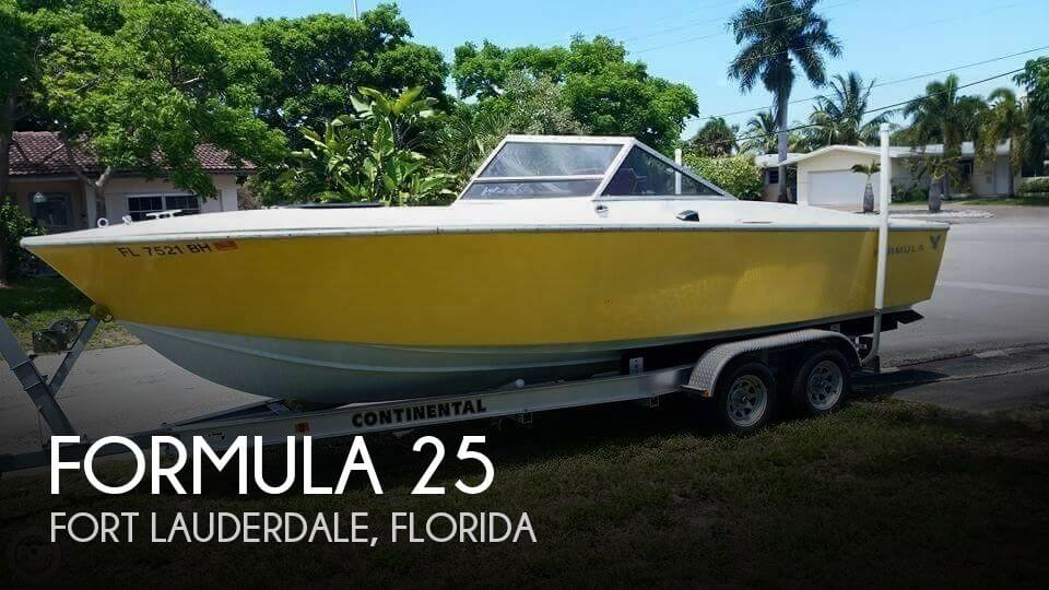 Used Formula Boats For Sale in Florida by owner | 1976 Formula 25