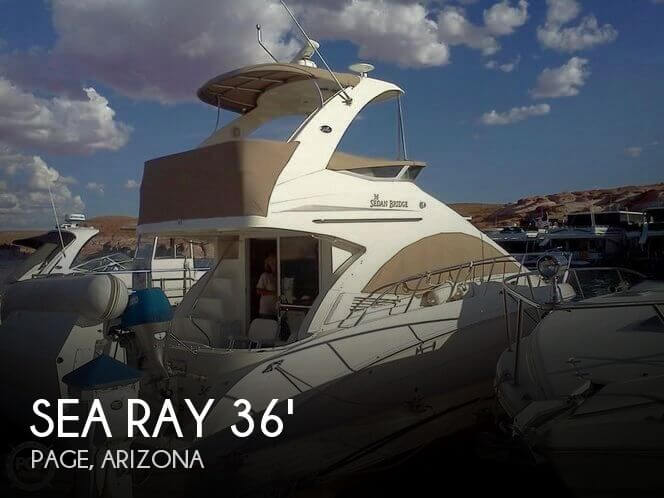 Used Boats For Sale in Arizona by owner | 2007 Sea Ray 36
