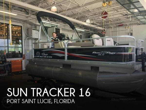 Used Pontoon Boats For Sale in Florida by owner | 2017 Sun Tracker 16
