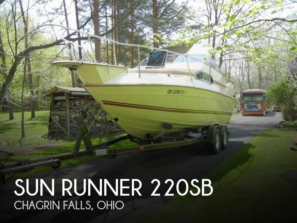 Used Sun runner Boats For Sale by owner | 1985 Sun Runner 20