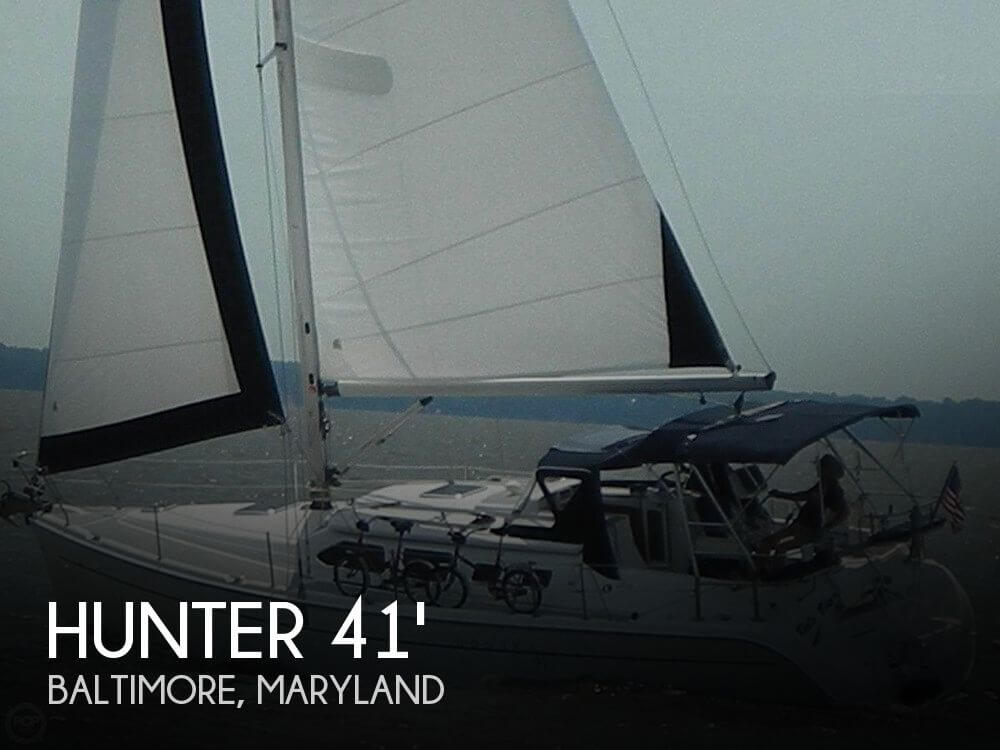Used Hunter Boats For Sale in Maryland by owner | 2007 Hunter 41