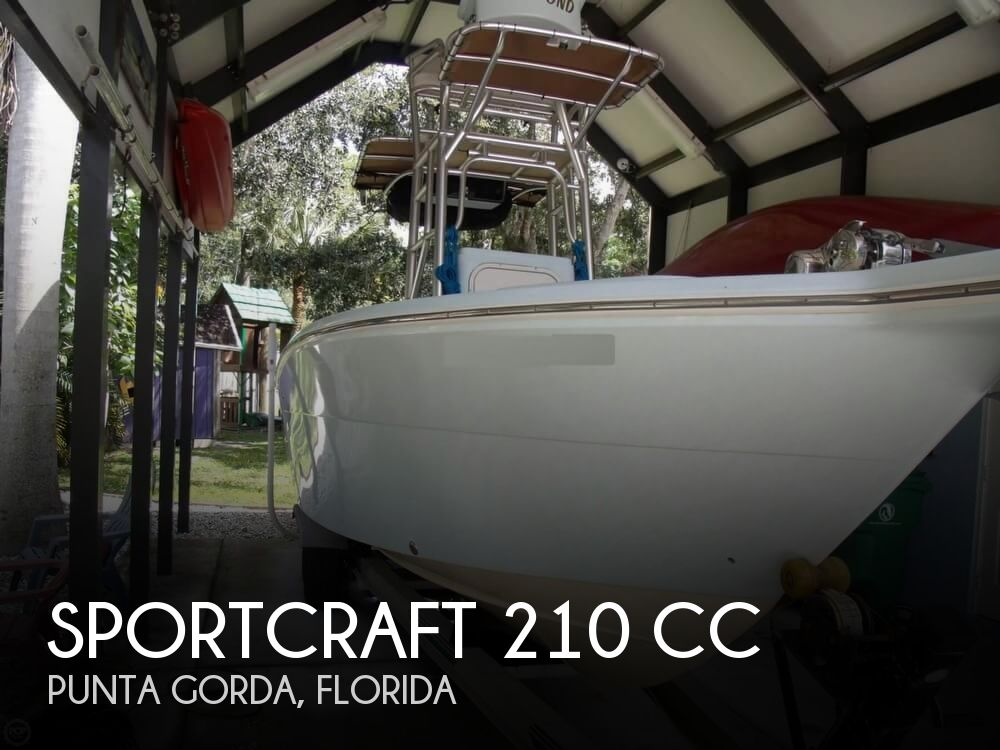 1999 Sportcraft boat for sale, model of the boat is 210 CC & Image # 1 of 40
