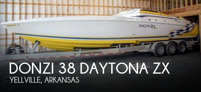 Used DONZI Boats For Sale by owner | 2001 Donzi 38 Daytona ZX