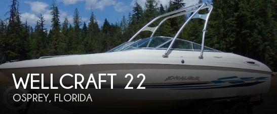 Used Wellcraft 22 Boats For Sale by owner   2000 Wellcraft 22