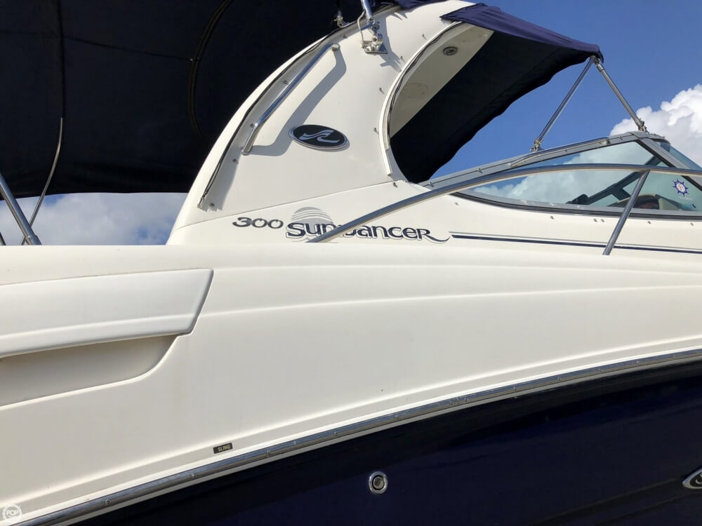2005 Sea Ray boat for sale, model of the boat is 300 Sundancer & Image # 22 of 40