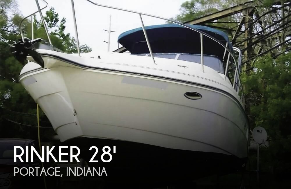 1995 Rinker boat for sale, model of the boat is 280 Fiesta Vee & Image # 1 of 28