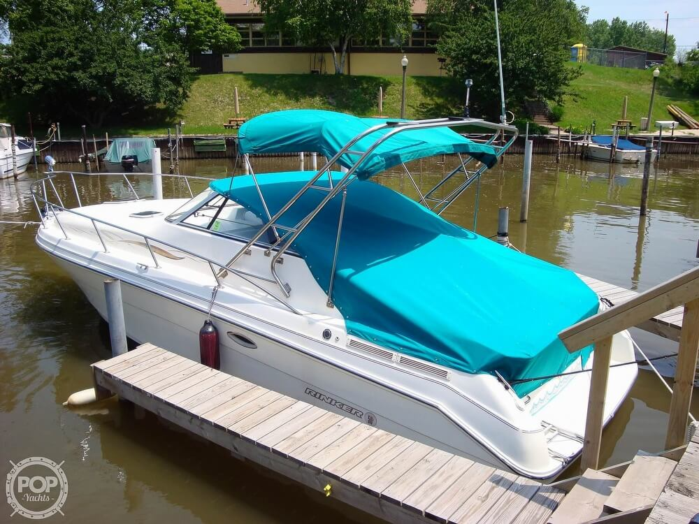 1995 Rinker boat for sale, model of the boat is 280 Fiesta Vee & Image # 24 of 28