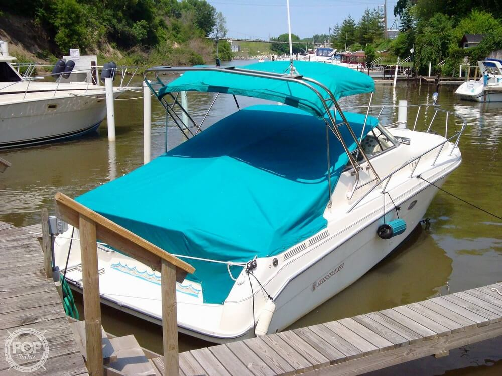 1995 Rinker boat for sale, model of the boat is 280 Fiesta Vee & Image # 26 of 28