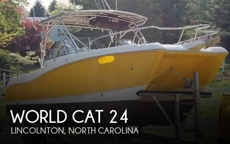 Used World Cat Boats For Sale by owner | 2001 World Cat 24