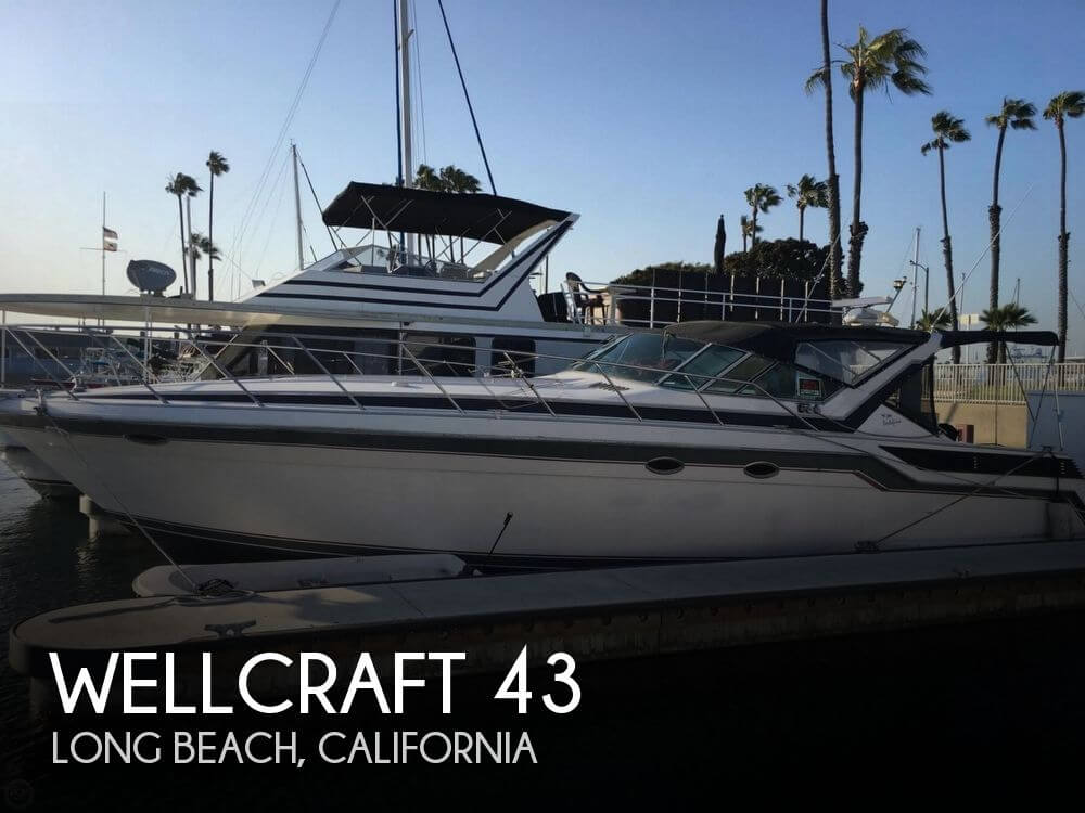 Used Wellcraft Boats For Sale in California by owner   1987 Wellcraft 43