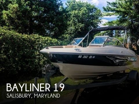 Used Ski Boats For Sale in Maryland by owner | 2015 Bayliner 19