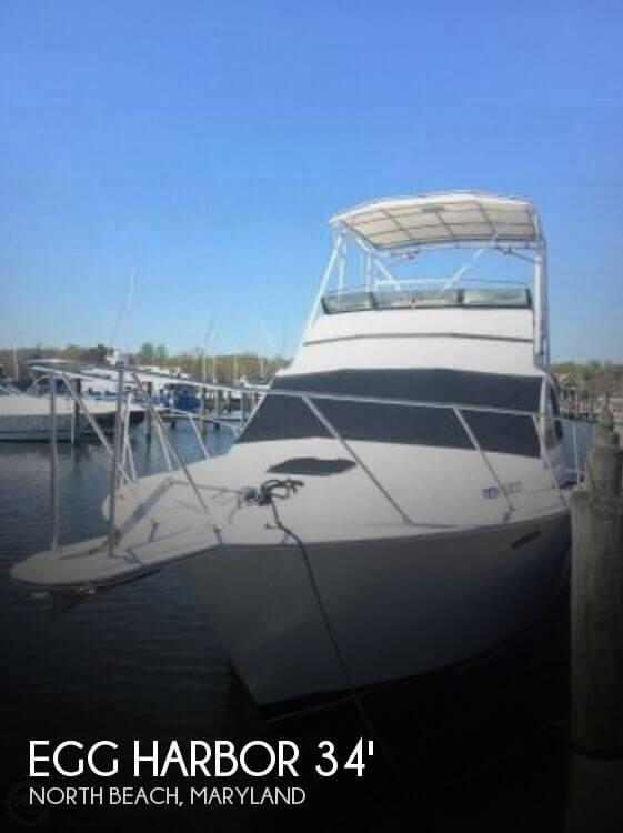 Used Egg Harbor Boats For Sale by owner | 1990 Egg Harbor 33