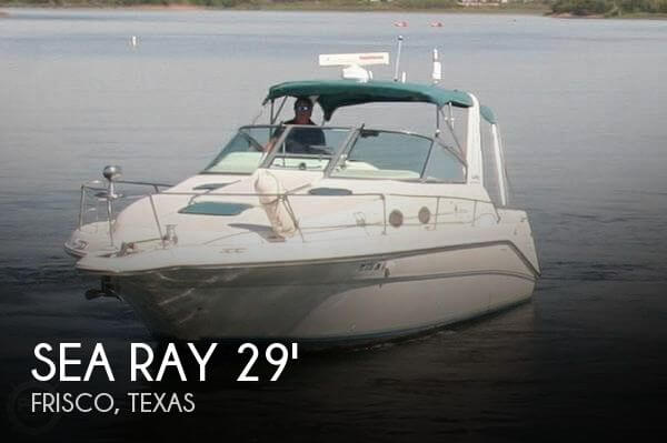 Used Sea Ray 29 Boats For Sale by owner | 1995 Sea Ray 29