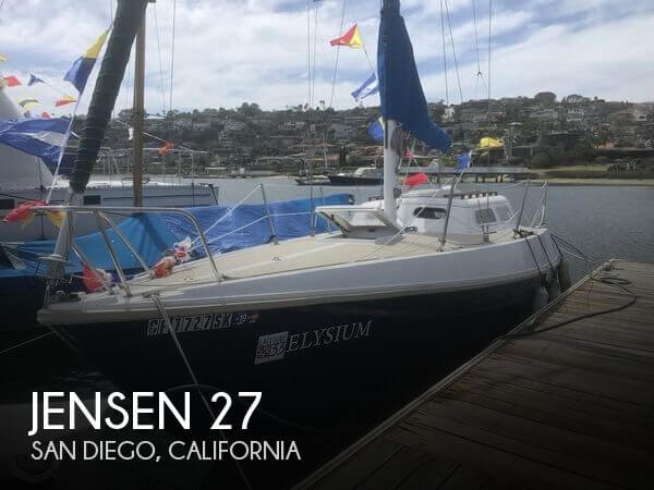 Used Jensen Boats For Sale by owner | 1972 Jensen 27