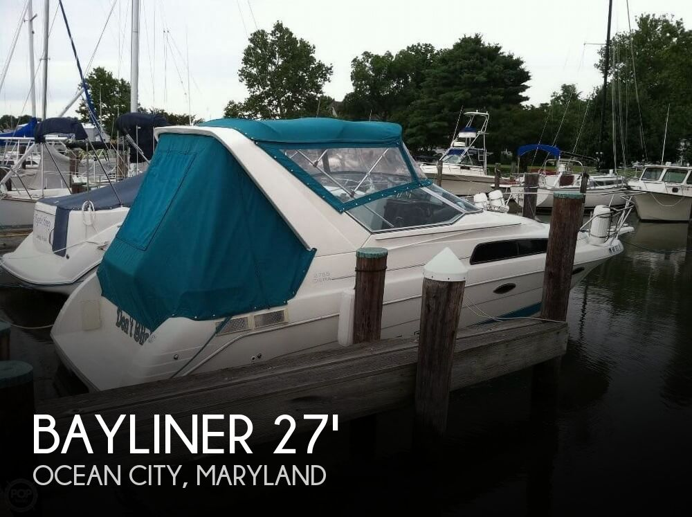 Used Bayliner Boats For Sale in Maryland by owner | 1993 Bayliner 2755 Ciera