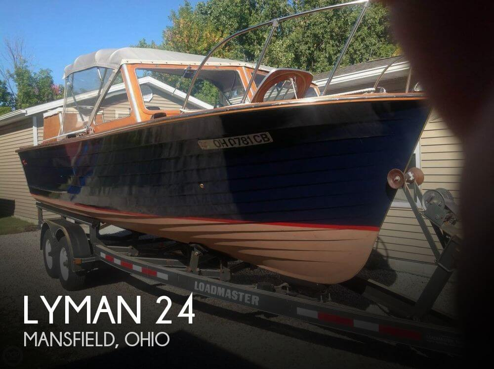 Used Boats For Sale in Columbus, Ohio by owner | 1962 Lyman 24