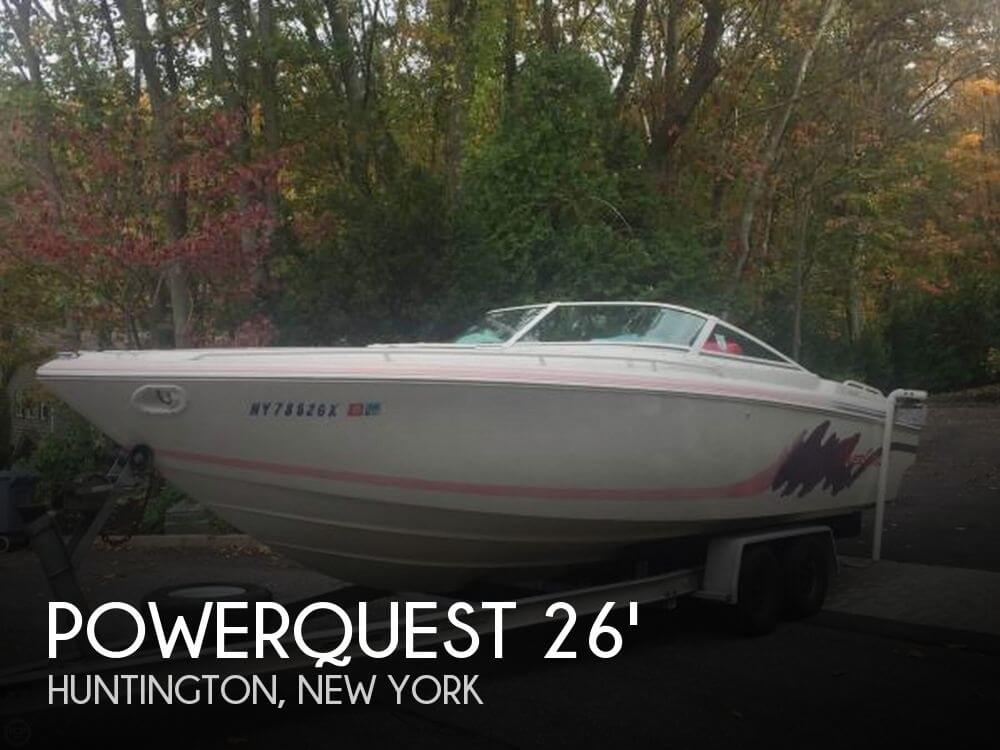 Used Powerquest Boats For Sale by owner | 1993 Powerquest 26
