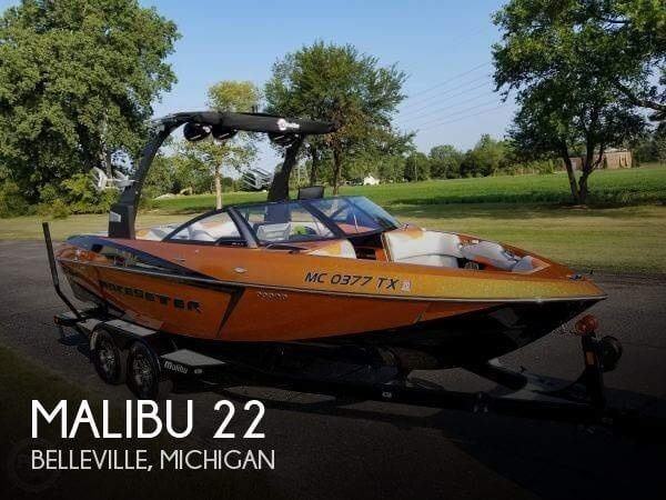 Used Boats For Sale in Flint, Michigan by owner | 2016 Malibu 22