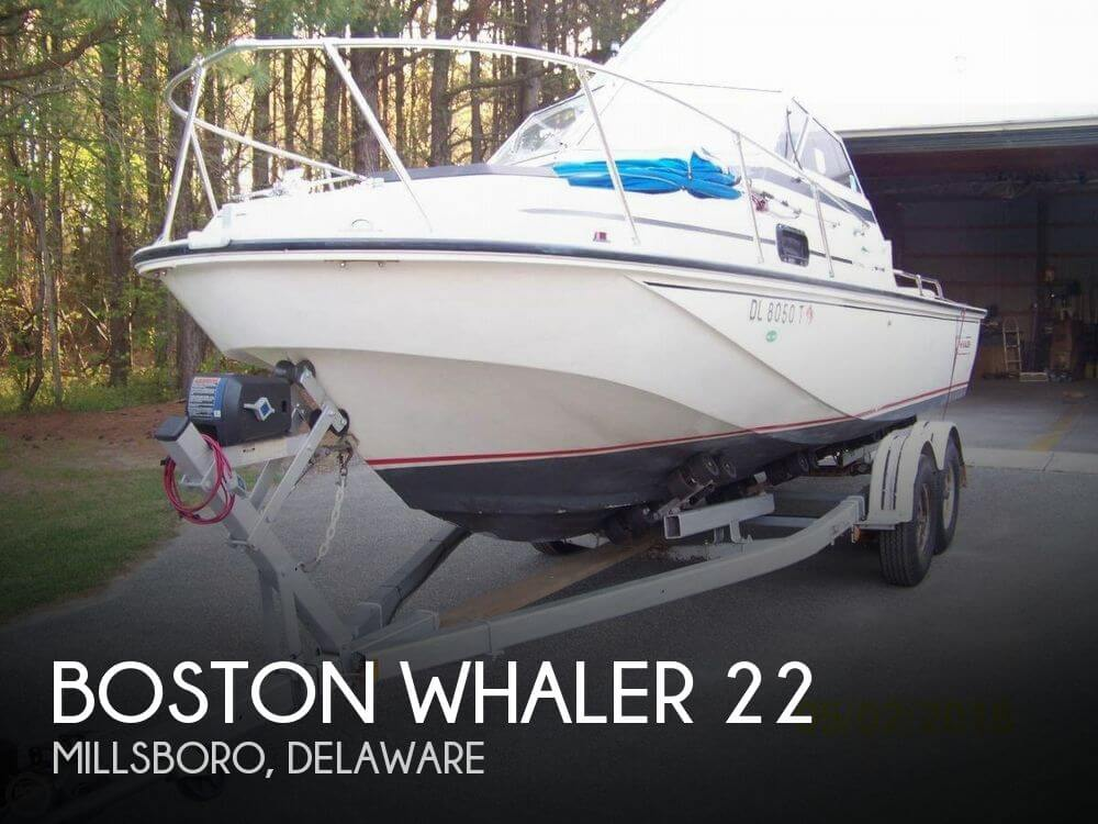 Used Boston Whaler Boats For Sale in Atlantic City, New Jersey by owner | 1982 Boston Whaler 22