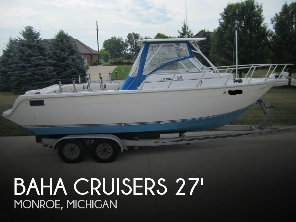 1999 Baha Cruisers boat for sale, model of the boat is 271 WAC & Image # 1 of 40