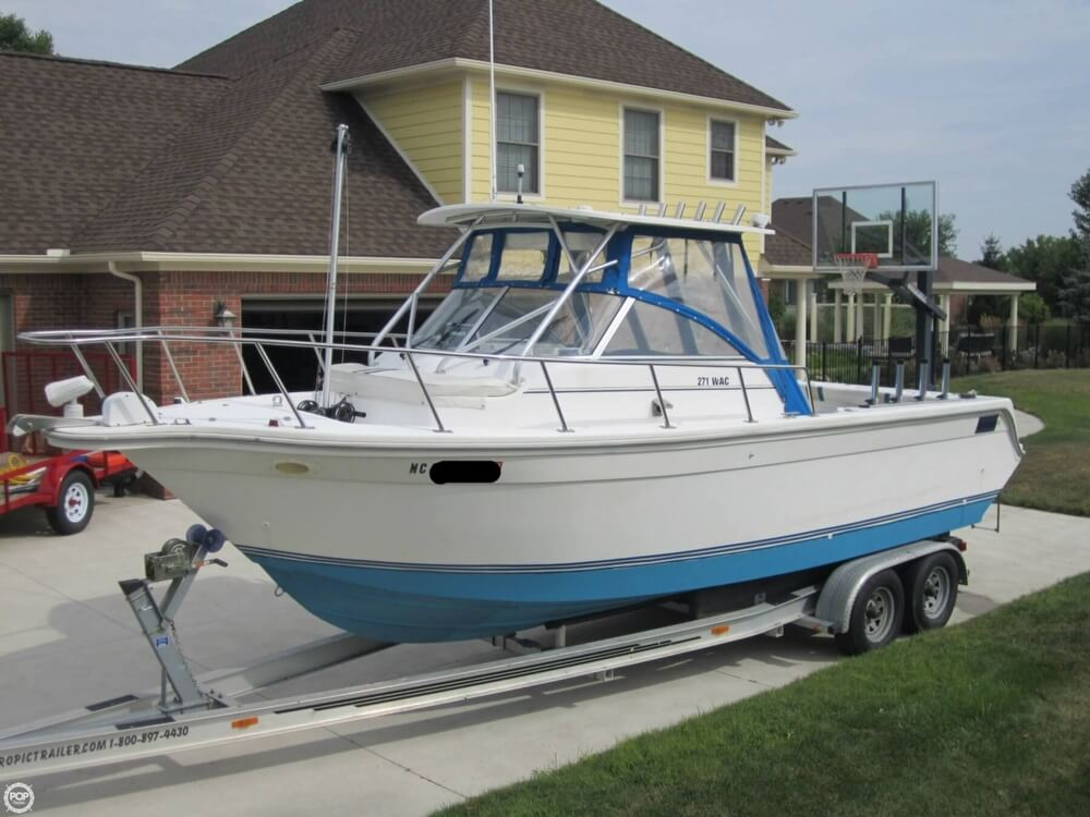 1999 Baha Cruisers boat for sale, model of the boat is 271 WAC & Image # 2 of 40