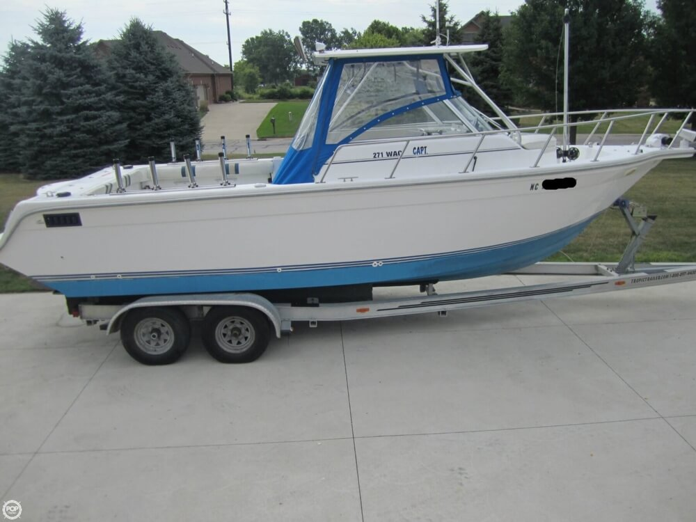 1999 Baha Cruisers boat for sale, model of the boat is 271 WAC & Image # 13 of 40