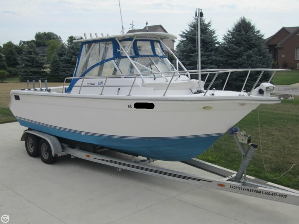 1999 Baha Cruisers boat for sale, model of the boat is 271 WAC & Image # 14 of 40
