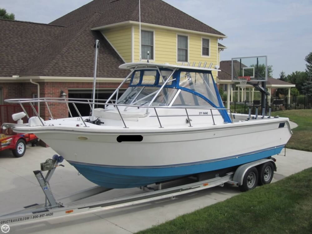 1999 Baha Cruisers boat for sale, model of the boat is 271 WAC & Image # 20 of 40