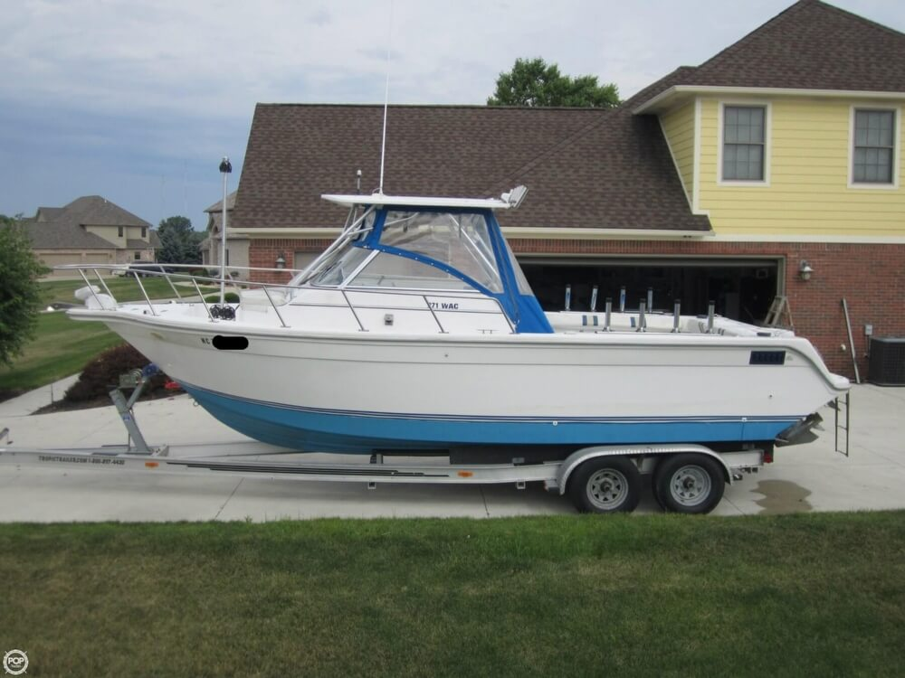 1999 Baha Cruisers boat for sale, model of the boat is 271 WAC & Image # 21 of 40