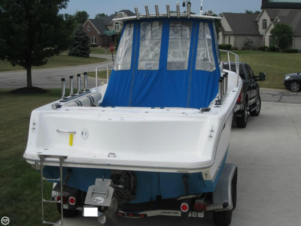 1999 Baha Cruisers boat for sale, model of the boat is 271 WAC & Image # 23 of 40