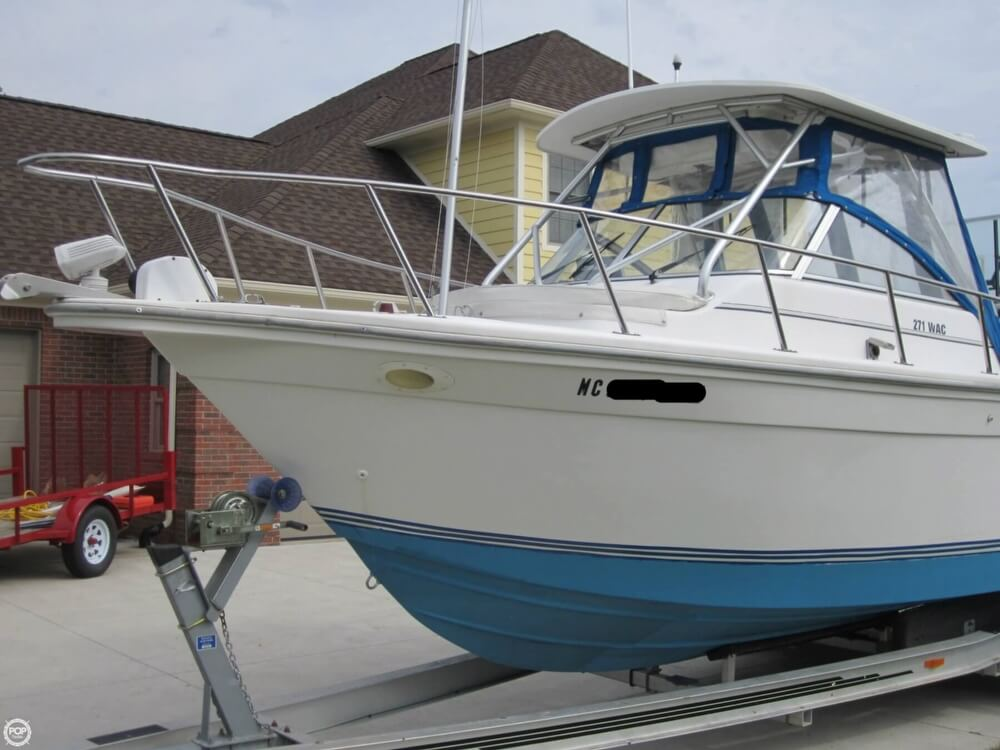 1999 Baha Cruisers boat for sale, model of the boat is 271 WAC & Image # 26 of 40