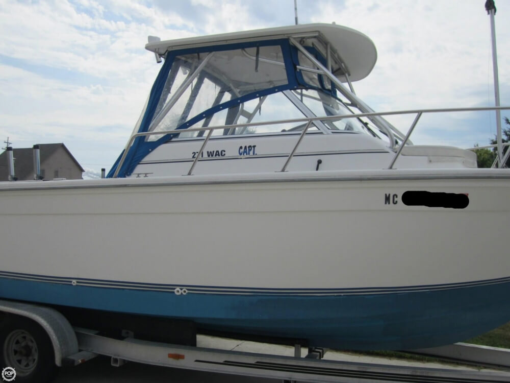 1999 Baha Cruisers boat for sale, model of the boat is 271 WAC & Image # 33 of 40